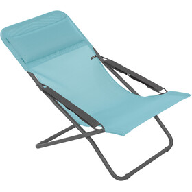 Lafuma Mobilier Transabed Sun Lounger with Cannage Phifertex, lac